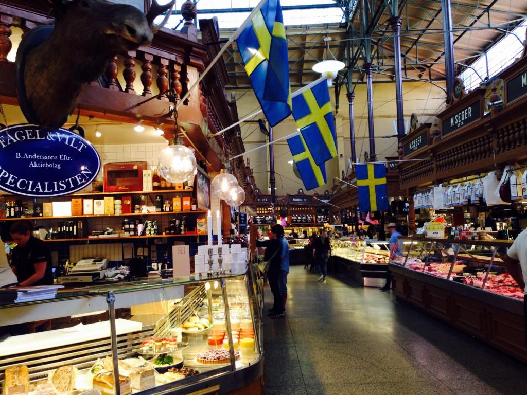 Der Gourmettempel Stockholms - die Saluhallen