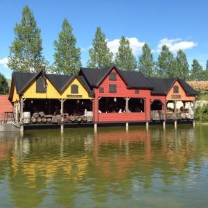 Restaurant am See der Villa Kunterbunt