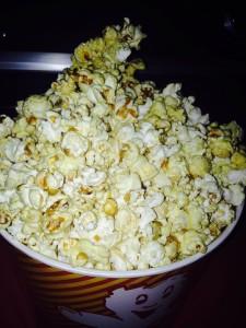 Popcorn im Autokino Dive In in Essen