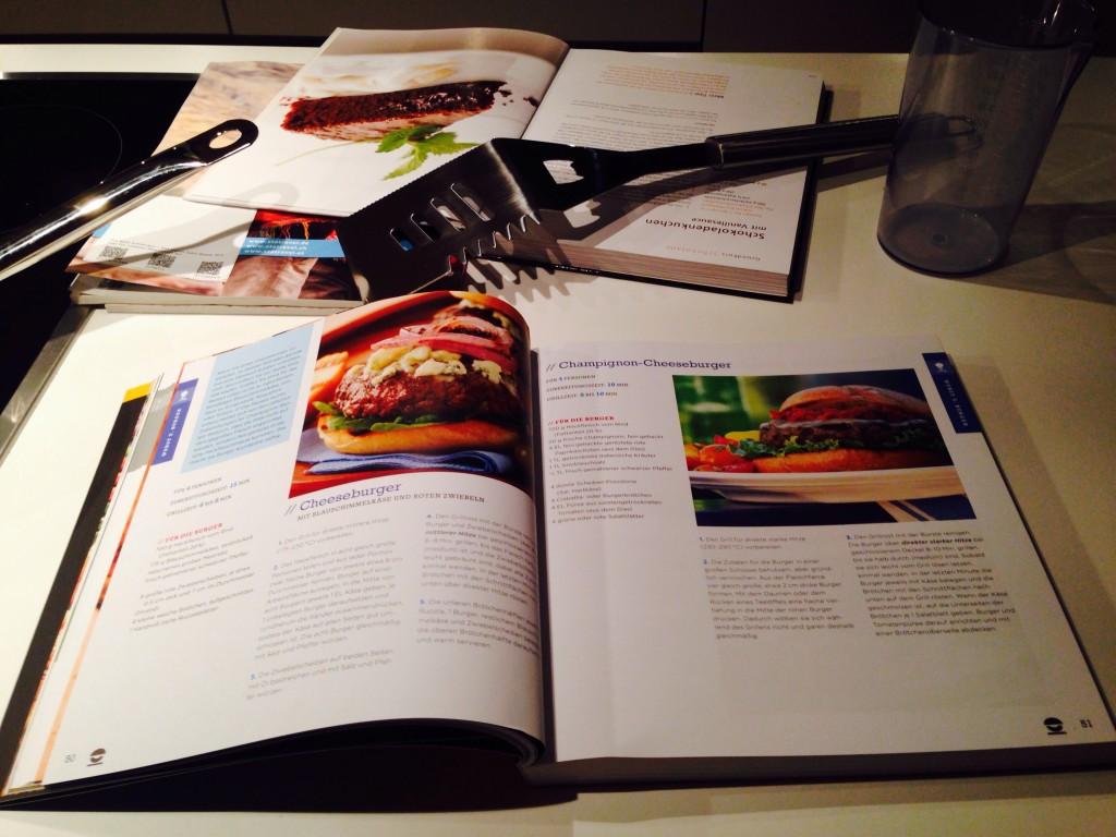 Rezepte für selbstgemachte Burger